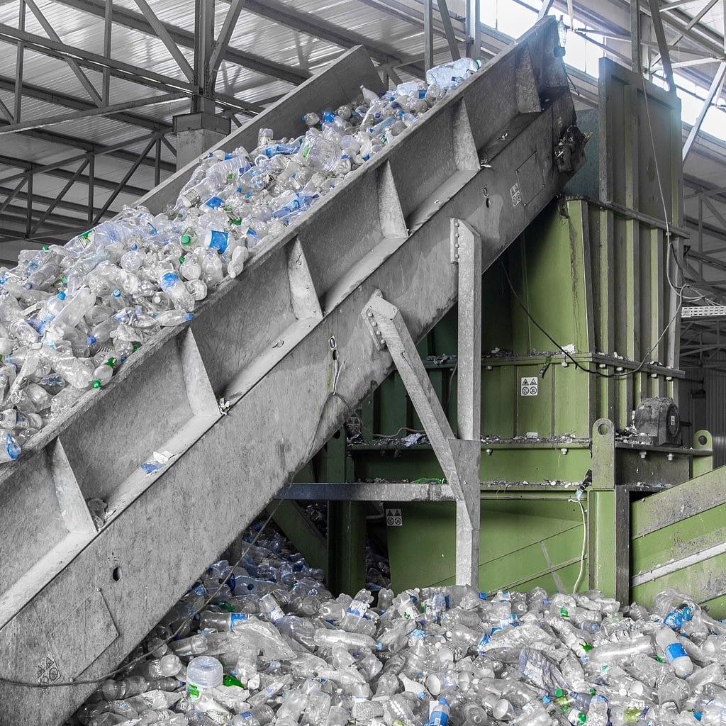 Proces afzuiging bij recyclingactiviteiten