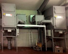 Filtersysteem voor menger en vulaanzuiging