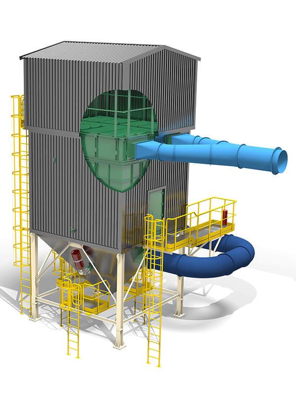 Industriële ontstoffingssystemen Stofafzuigsystemen - Stofafscheiders