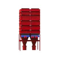 Zakfilter INFA-JET AJN met pneumatische jetpulsreiniging